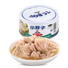 甜蜜心语 泰国原装进口小胖子特级初榨橄榄油浸金枪鱼罐头180g