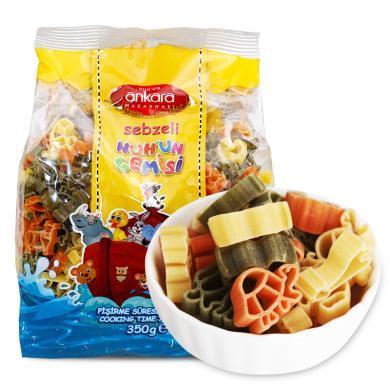 ¥#$?#37096;?#25289;三色蔬菜意式面(动物形)(350g)