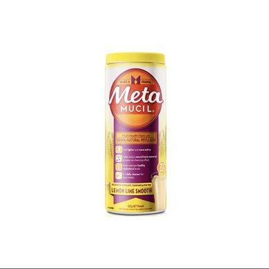1瓶*澳洲Metamucil美达施膳食纤维粉柠檬幼滑口味72次 425克【香港直邮】
