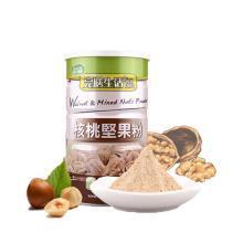 台湾进口完膳生活 核桃粉坚果粉 五谷杂粮粉 500g/罐