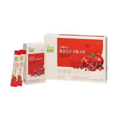 【支持購物卡】韓國 正官莊 高麗參紅石榴飲料 進口保健品 10ml*30包/盒