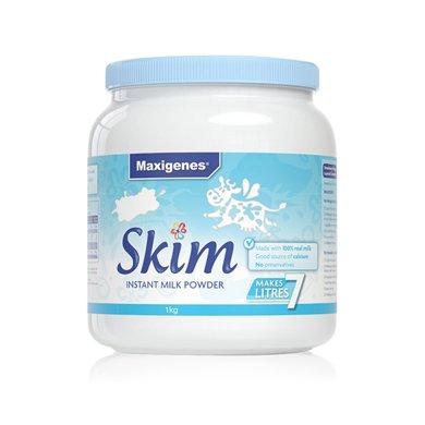 1罐*澳洲美可卓脱脂奶粉 蓝胖子脱脂奶粉Maxigenes高钙脱脂奶粉美可卓(适合婴幼儿除外的所有人群) 1kg【香港直邮】