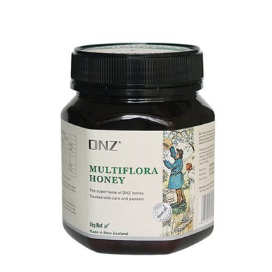 DNZ新西兰原装进口蜂蜜纯净天然百花蜂蜜多花?#32622;?000g