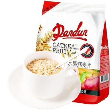 拉菲水果麥片香港進口即食沖飲燕麥片獨立包裝490克袋裝