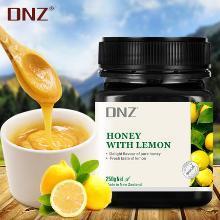 DNZ檸檬蜂蜜新西蘭原裝進口檸檬蜜膏250g便攜裝