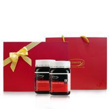comvita康维他UMF10+麦卢卡500g蜂蜜新西兰原装进口蜜天然成熟蜜*2瓶礼盒装