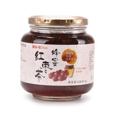 韩国进口 迪乐司Dails 韩国风蜂蜜 柚子红枣柠檬水果茶冲饮品