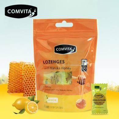 comvita康維他麥盧卡UMF10+蜂蜜硬糖果12粒檸檬味薄荷新西蘭進口