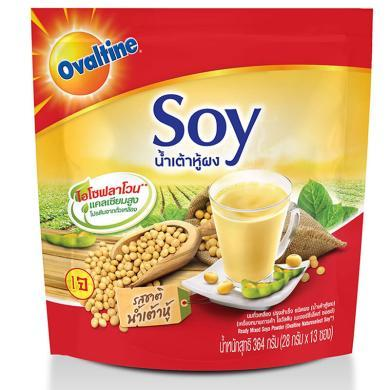 泰國原裝進口 SOY阿華田速溶豆漿364g 原味豆漿沖飲營養早餐