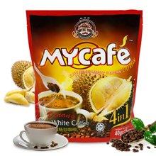 食之以恒咖啡树  马来西亚进口槟城白咖啡榴莲味600g*1袋 速溶咖啡饮品榴莲咖啡
