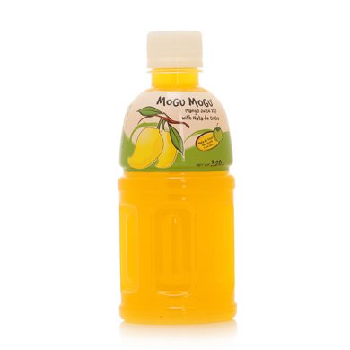摩咕摩咕椰果芒果汁饮料(含椰果)(320ml)