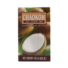 泰国俏果CHAOKOH纯椰浆椰奶椰汁西米露椰子汁纯椰汁水250ml