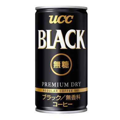UCC悠詩詩無糖濃咖啡飲料(185g)