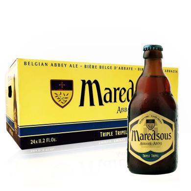 【新貨到柜 比利時修道院啤酒】馬里斯啤酒/Maredsous 十號 比利時原瓶進口 修道院啤酒 330ml 瓶裝 馬里斯10° 24支整箱