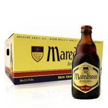 【新货到柜 比利时修道院啤酒】马里斯啤酒/Maredsous 八号 比利时原瓶进口 修道院啤酒 330ml 瓶装 马里斯8° 24支整箱