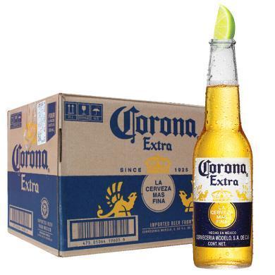 墨西哥進口 科羅娜(Corona)啤酒 330ml*24瓶 整箱