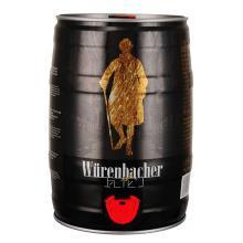 瓦伦丁(Wurenbacher)黑啤啤酒5L桶德国原装进口