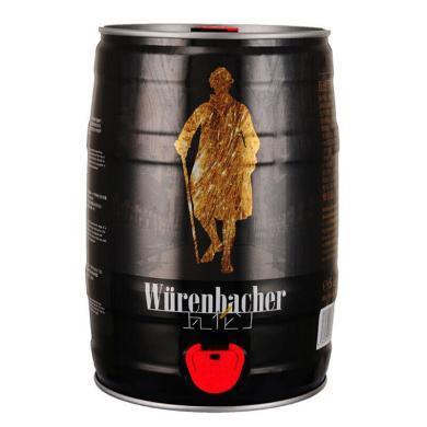 瓦倫丁(Wurenbacher)黑啤啤酒5L桶德國原裝進口