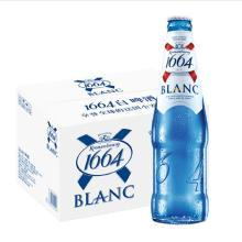 【新货到柜 日期新鲜 顺丰包邮】1664 BLANC白啤酒 330ml*24瓶整箱 整箱畅饮 尽享法式优雅