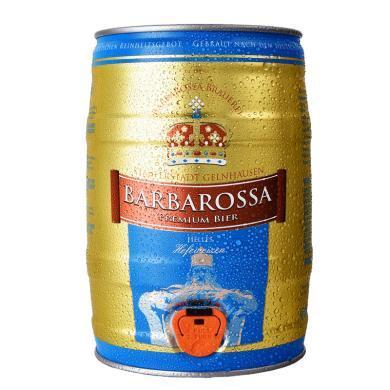 凱爾特人(Barbarossa)小麥白啤酒5L桶德國進口