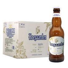 【新品到柜日期新鲜 顺丰包邮时效保障】比利时大牌 福佳(Hoegaarden)福佳小麦白啤酒 330ml*24瓶 整箱装
