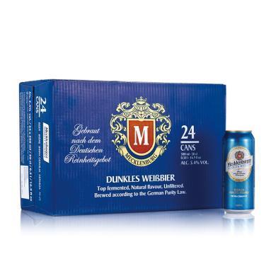 德國進口梅克倫堡(Mecklenburger)小麥黑啤酒500ml*24整箱裝
