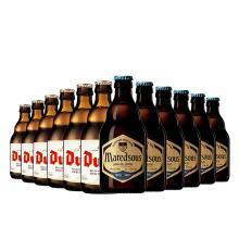 【新品到柜日期新鮮 順豐包郵時效保障】比利時精釀組合 督威黃金艾爾啤酒330ml*6支+馬里斯10°330ml*6支 12支暢飲組合裝