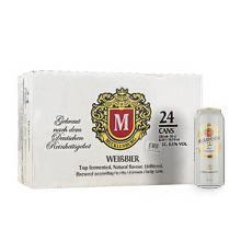 德国进口梅克伦堡(Mecklenburger)小麦啤酒500ml*24整箱装