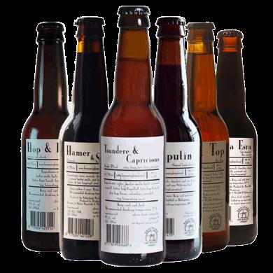 荷蘭進口手工精釀啤酒DeMolen 帝磨欄風車波特世濤IPA啤酒組合12*瓶整箱裝