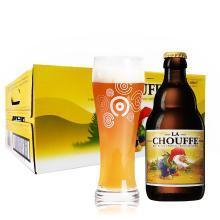 舒弗啤酒/CHOUFFE 艾爾啤酒 比利時原瓶原裝進口 精釀啤酒 330ml 瓶裝 舒弗24支裝整箱