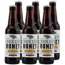 美國進口精釀啤酒 處女地啤酒 處女地卡車站蜂蜜棕色艾爾啤酒355ml*24瓶整箱