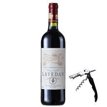 法国原瓶进口红酒 拉维德干红葡萄酒750ml 进口葡萄酒