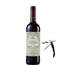 法國原瓶進口紅酒 佩爾圖斯男爵西拉干紅葡萄酒2013年750ml 進口葡萄酒