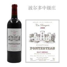 法国波尔多中级庄 丰铎酒庄红葡萄酒 2008年