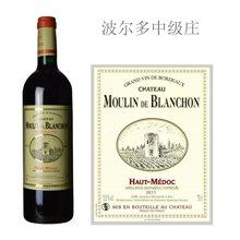 法国波尔多中级庄 白豹城堡红葡萄酒  2011年 精选