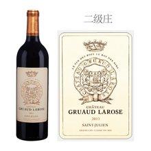 法国1855二级庄 金玫瑰城堡红葡萄酒 2013年