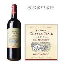 法国波尔多中级庄 柯瓦塔勒酒庄红葡萄酒 2012年