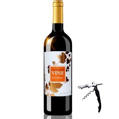 澳大利亚原瓶进口红酒 魔幻葡叶色拉子红葡萄酒 750ml 单瓶装 进口葡萄酒
