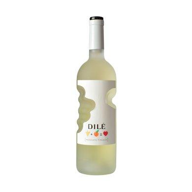【包邮】意大利进口 dile上帝之手帝力莫斯卡托桃味起泡配制酒葡萄酒750ml