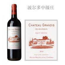法国波尔多中级庄 格兰迪酒庄红葡萄酒 2010年