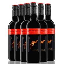 黃尾袋鼠赤霞珠/加本力紅葡萄酒 澳洲進口紅酒750ml 整箱六支