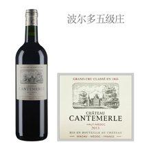 法国1855五级庄 佳得美酒庄红葡萄酒 2013年
