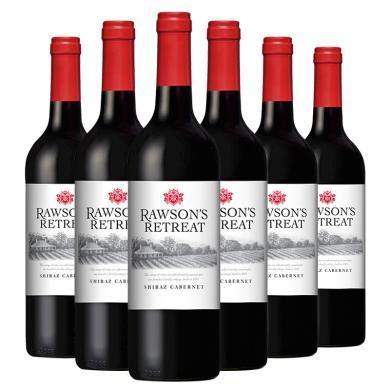 奔富Penfolds 澳洲原瓶進口洛神山莊葡萄酒 赤霞珠西拉子紅葡萄酒750M*6整箱