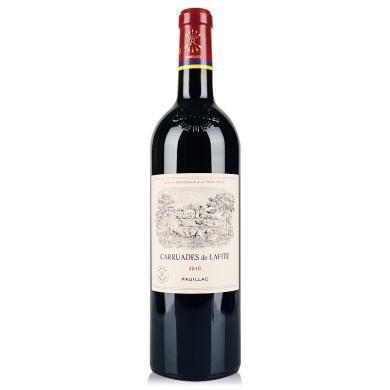 法國 1855一級名莊 2010年拉菲 Lafite副牌 拉菲珍寶 干紅葡萄酒 750ml