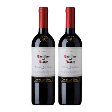 【世界名莊】紅魔鬼 紅魔鬼赤霞珠干紅葡萄酒 750ml … (2支)