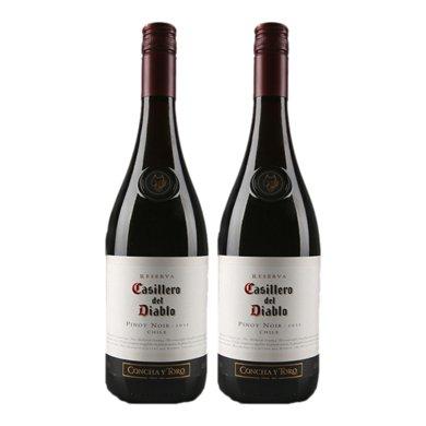 Casillero del Diablo 紅魔鬼 黑皮諾紅葡萄酒750ml(智利進口紅酒) … (2支)