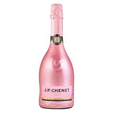 【JPCHENET 香奈法国原瓶进口】时尚易饮颜值酒 冰爽半干型 桃红起泡葡萄酒 750ml