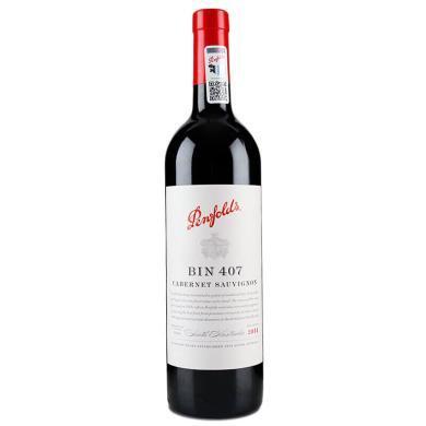【下單立減100元 到手價850】奔富紅酒 Bin407 澳洲澳大利亞penfolds原瓶進口干紅葡萄酒750Ml