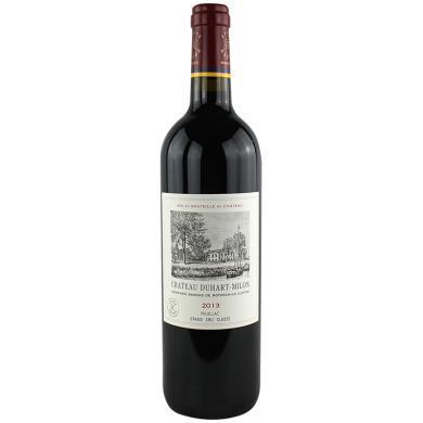 法國原瓶進口 DBR拉菲紅酒 波亞克產區 杜赫美倫(都夏美隆 杜哈米隆)酒莊干紅葡萄酒 2013年 750ml