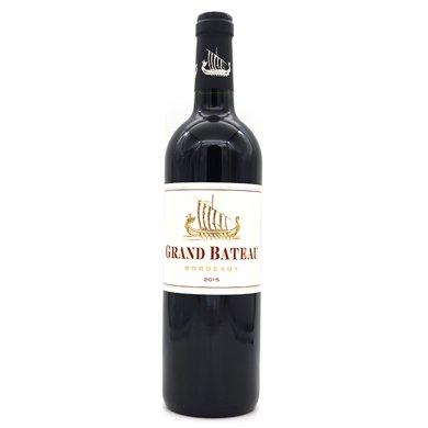 法國大牌 波爾多AOC GRAND BATEAU 小龍船 干紅葡萄酒750ml(單支)